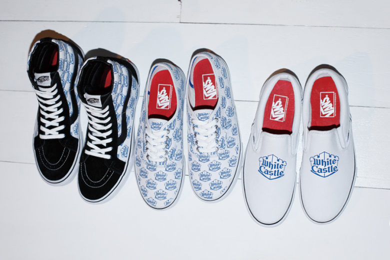White Castle x Supreme x Vans