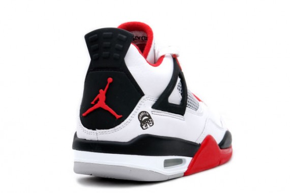Air Jordan 4 Mars Blackmon (White / Varsity Red - Black)