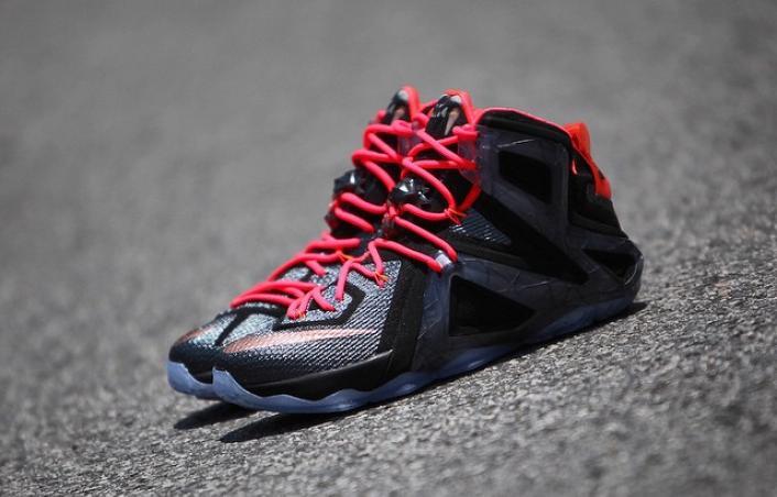 66a661d3028 ShoeFax - Nike LeBron 12 Elite Rose Gold