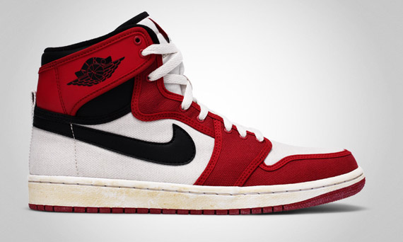 2010 Air Jordan 1 AJKO White Black Varsity Red