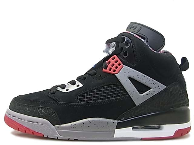 new style 86096 7d4dc Air Jordan Spizike Black   Varsity Red - Cement Grey