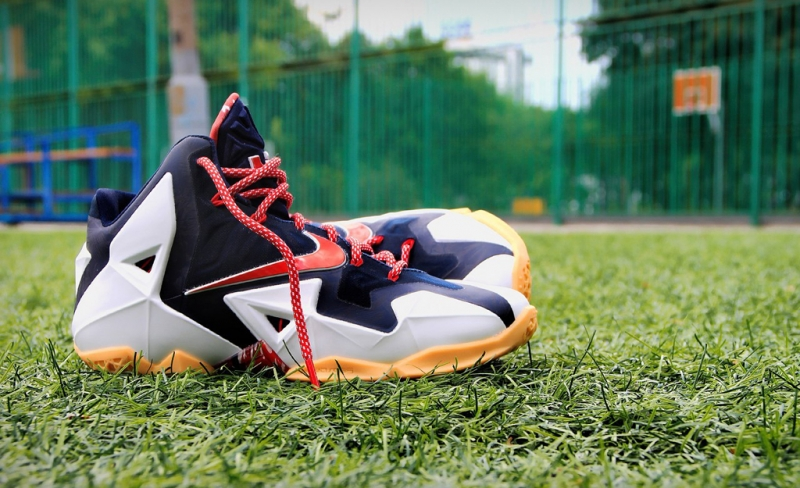 d94a8076e1b ShoeFax - Nike Lebron 11 Independence Day