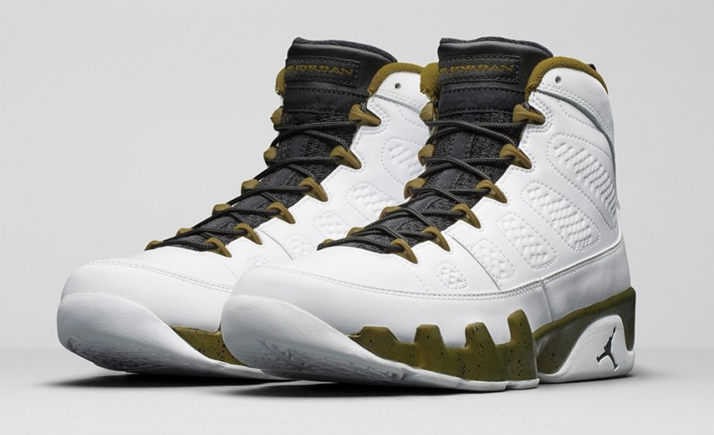 Air Jordan 9 Militia Green
