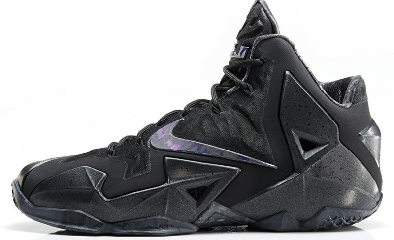 Nike Lebron 11 Blackout / Anthracite