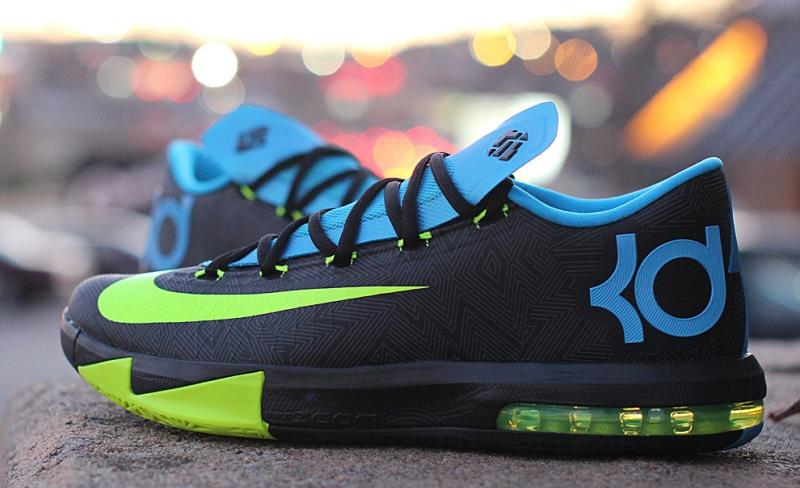ShoeFax - Nike KD 6 Black   Volt Vivid 5a4c71347