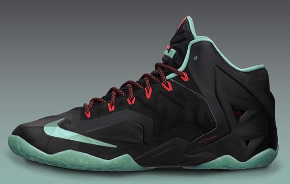 quality design 57e81 50fcd Nike Lebron 11 Jade