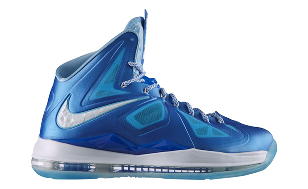 803948e41aa2 ShoeFax - Nike LeBron 10 Blue Diamond