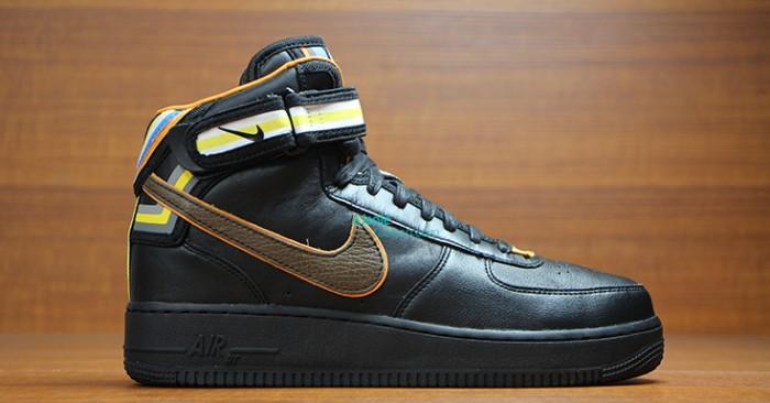 premium selection 310d7 c6f22 Riccardo Tisci x Nike Air Force 1 Mid Black