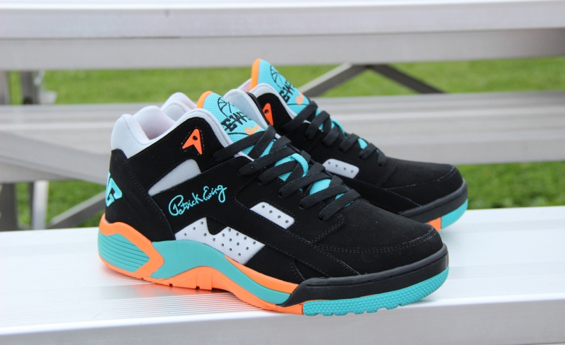 Ewing Wrap Black / Teal - Orange