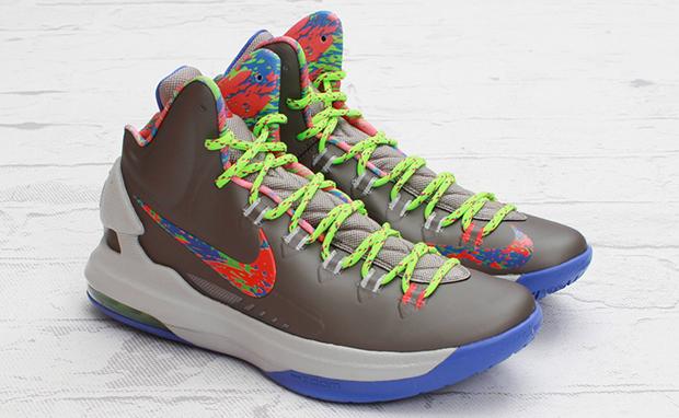 95dc217b1f8 Nike KD 5 Splatter