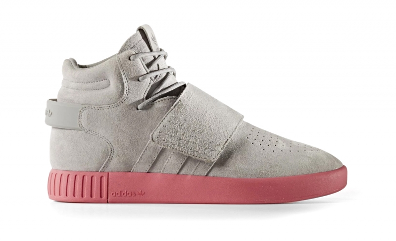 Adidas Tubular Invader Strap Solid Grey