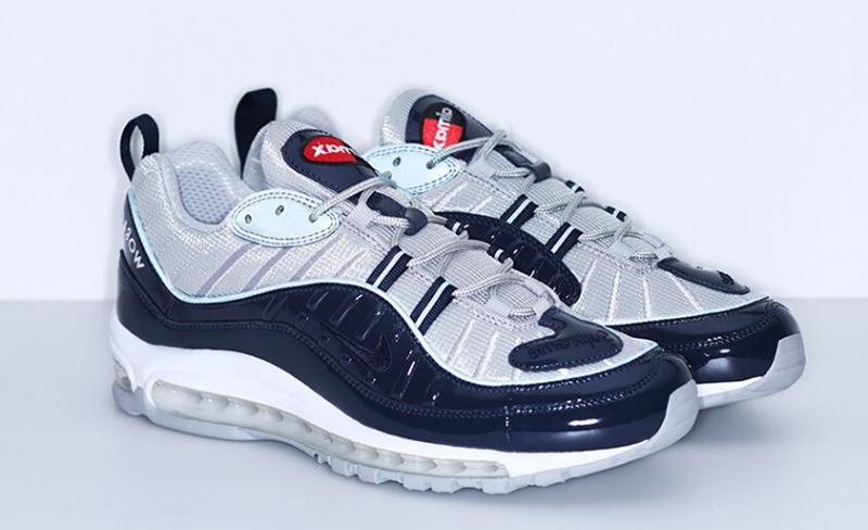 42a89899e3 ShoeFax - Supreme Nike Air Max 98 Navy