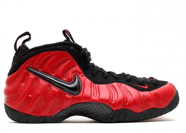Nike Air Foamposite Pro - Varsity Red / Black