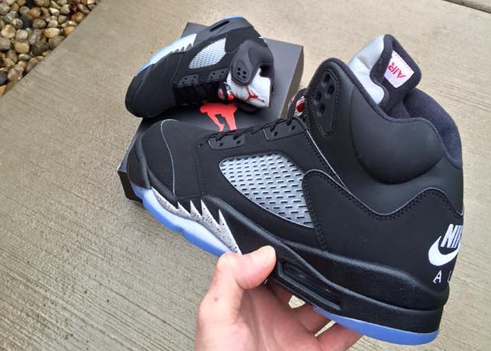 2016 Air Jordan 5 Black Metallic