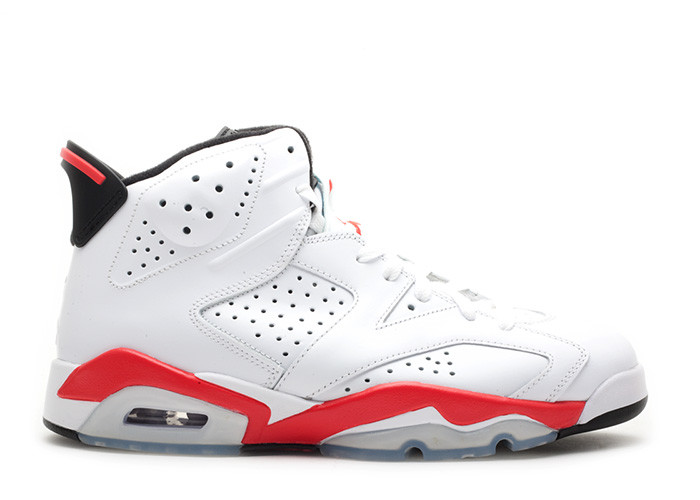 2010 Air Jordan 6 White Infrared