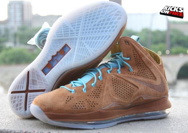 f5aca72b022a7e ShoeFax - Nike Lebron 10 Hazelnut