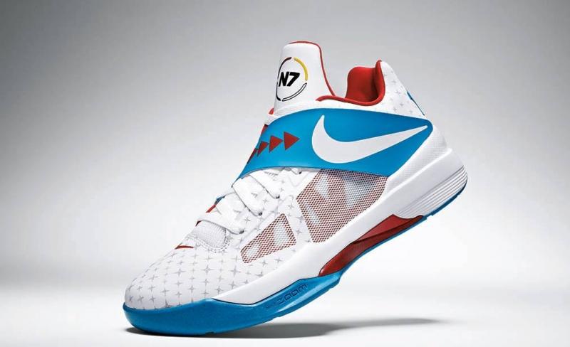 Nike KD 4 N7 White