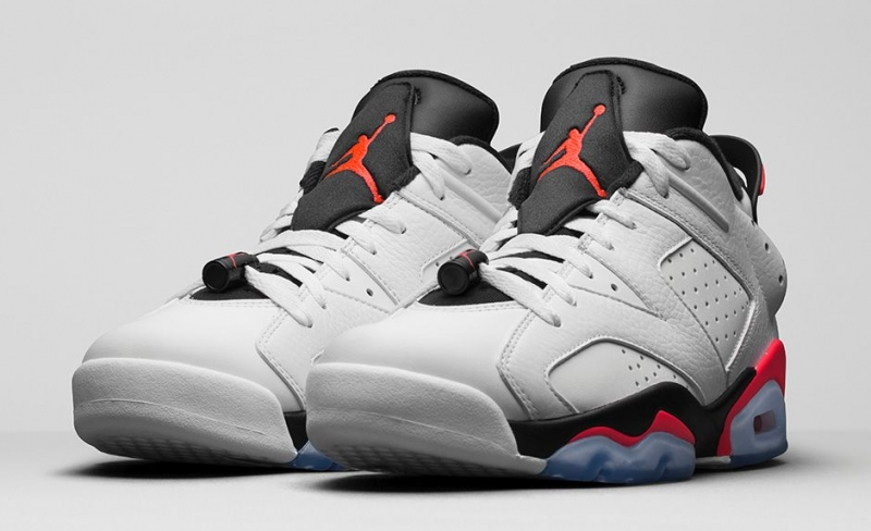 Air Jordan 6 Low White Infrared
