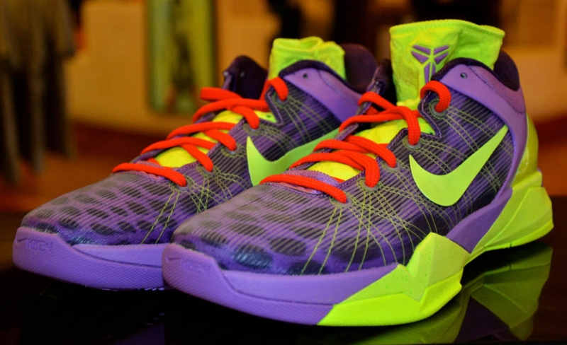 Nike Kobe 7 Christmas Cheetah
