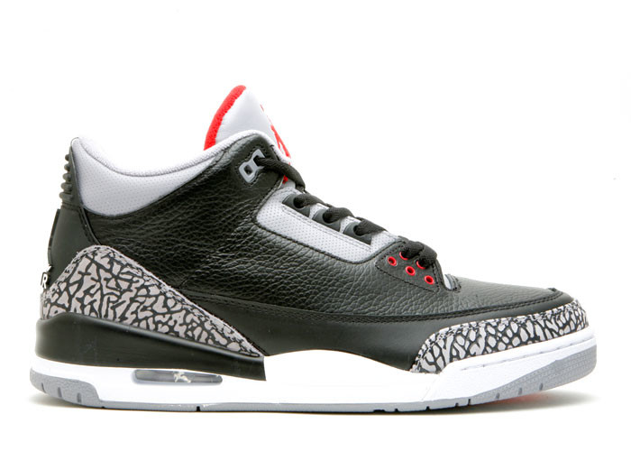 Air Jordan 3 Black Cement CDP