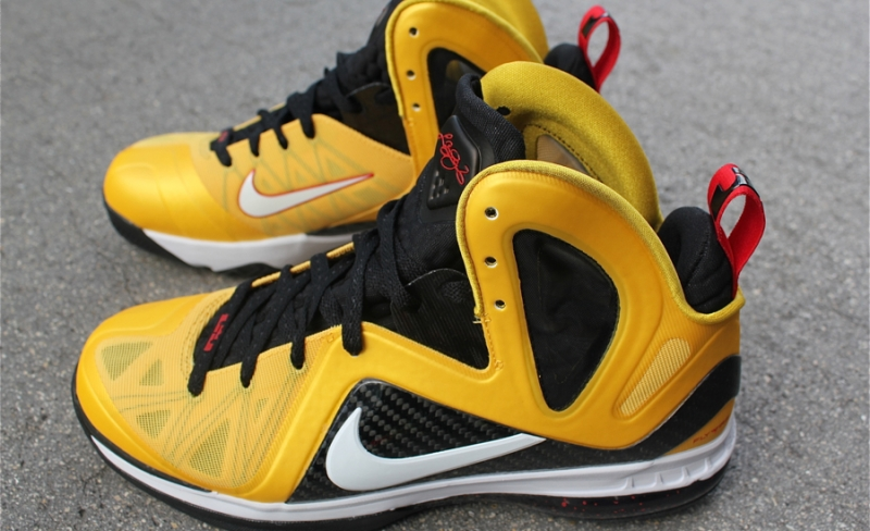 best service 22c85 df35d Nike LeBron 9 PS Elite Taxi