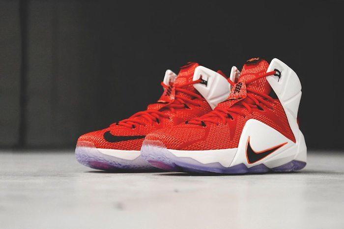 hot sale online 10f8e f84e0 Nike LeBron 12 Heart of a Lion