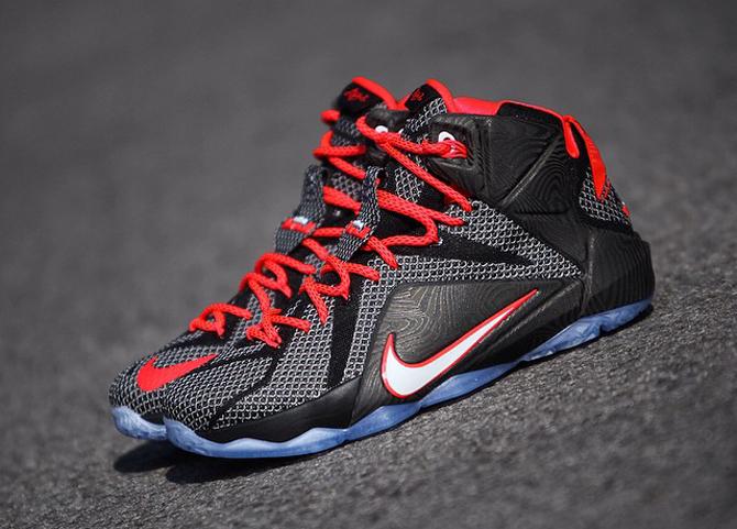 sports shoes 91f81 628c0 ShoeFax - Nike LeBron 12 Court Vision