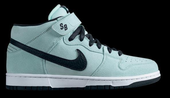 aef6e20a536b43 ShoeFax - Nike Dunk Mid SB Ice Green   Charcoal