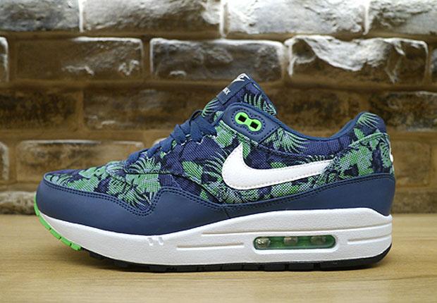Nike Air Max 1 Blue Floral