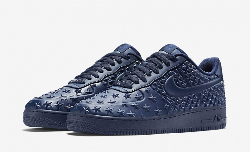 ShoeFax Nike Air Force 1 Independence Day Blue