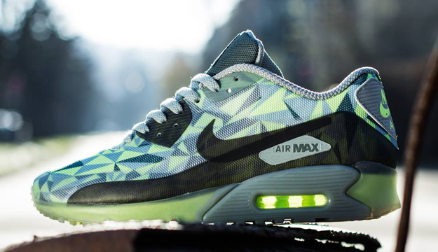 lowest price a5fe1 ee818 ShoeFax - Nike Air Max 90 ICE Volt