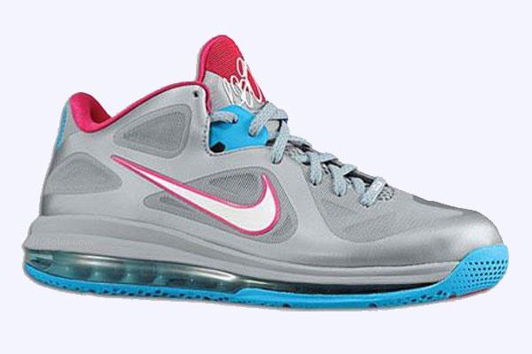 Nike Lebron 9 Low Fireberry