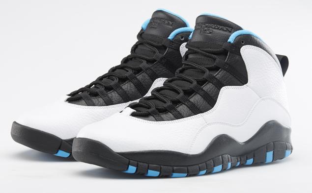 Air Jordan 10 Powder Blue