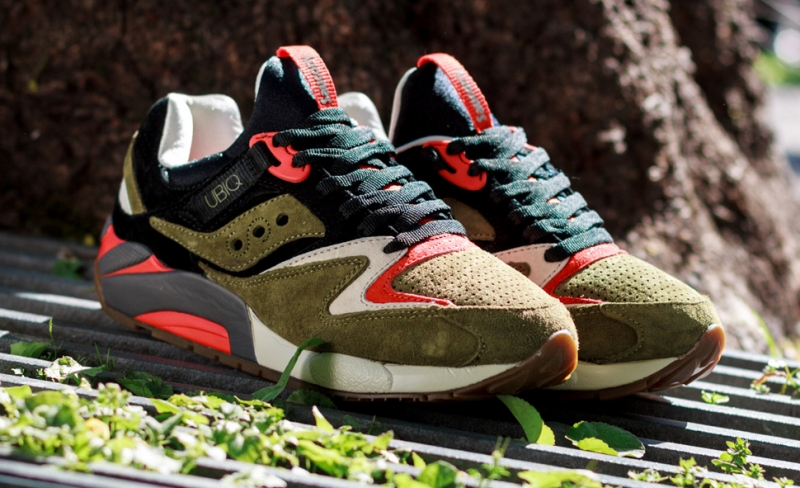Saucony Grid 9000 Dirty Martini UBIQ