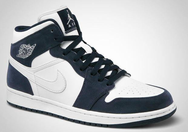 33b622ad171c ShoeFax - Air Jordan 1 Phat White   White - Obsidian