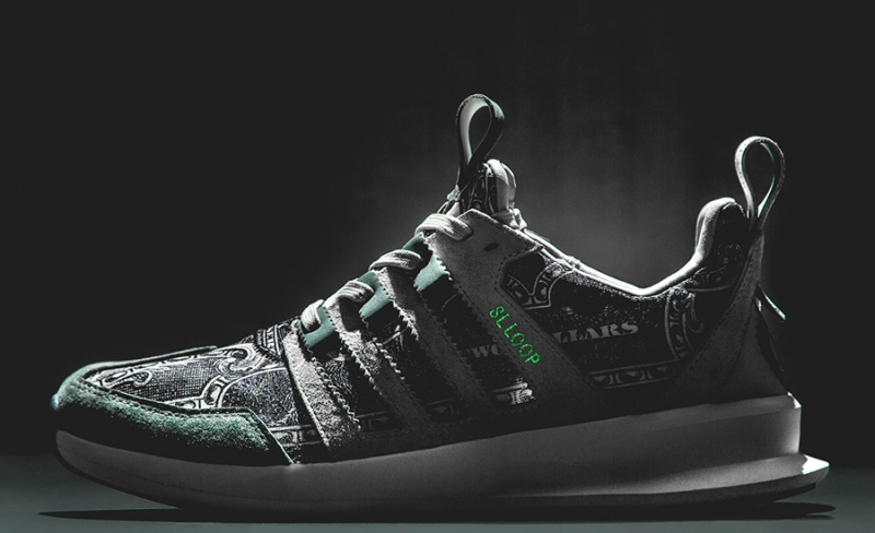 WISH x Adidas SL Loop Runner Independent Currency