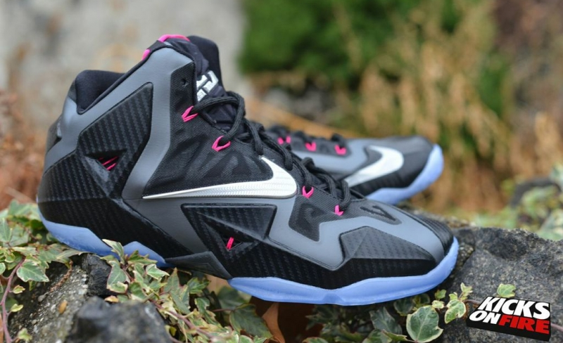 e7662262fbfc ShoeFax - Nike LeBron 11 Miami Night (616175-003)